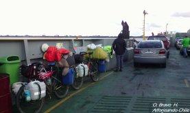 Barcaza hacia Chacao