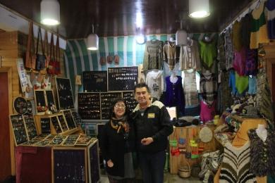 Ivan y Gladys, Feria Artesanel